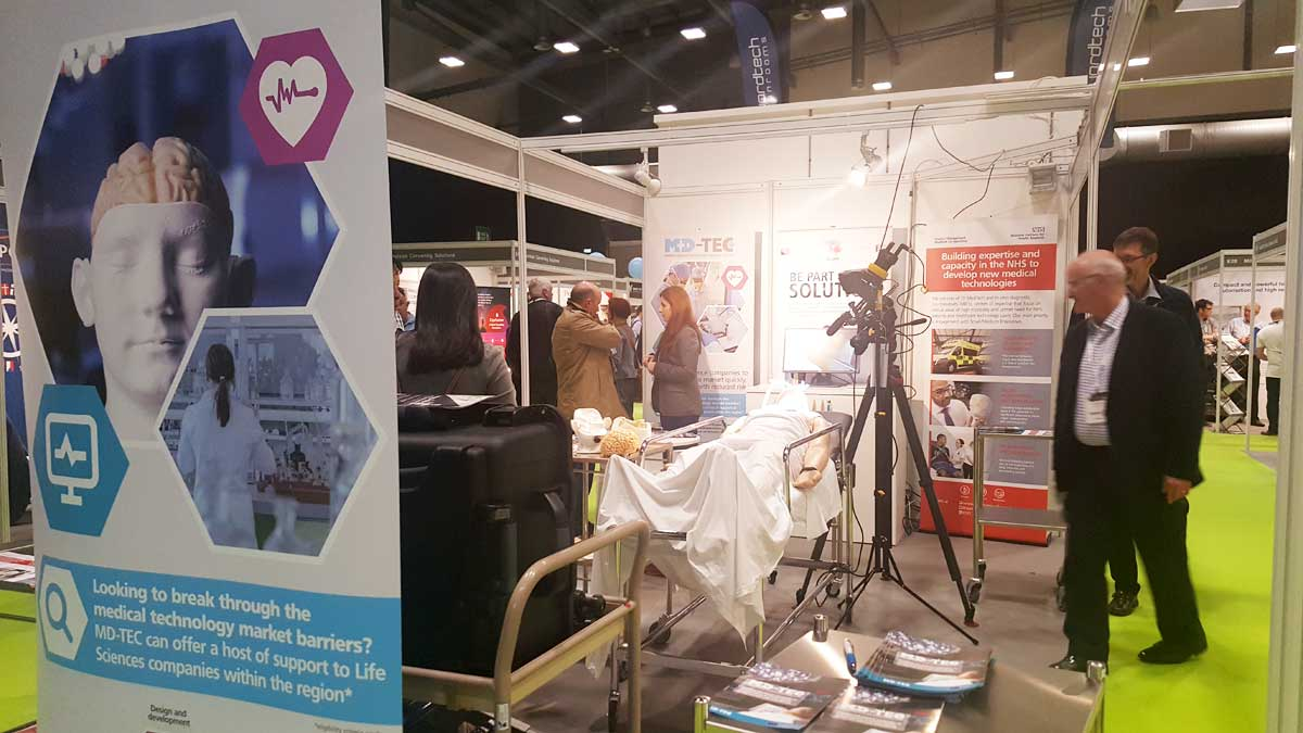 Med-Tech Innovation Expo 2018: Meet MD-TEC at Stand D40